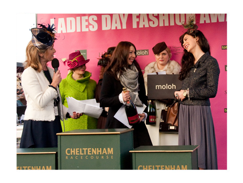 Image of judging at Ladies Day, Cheltenham Racecourse